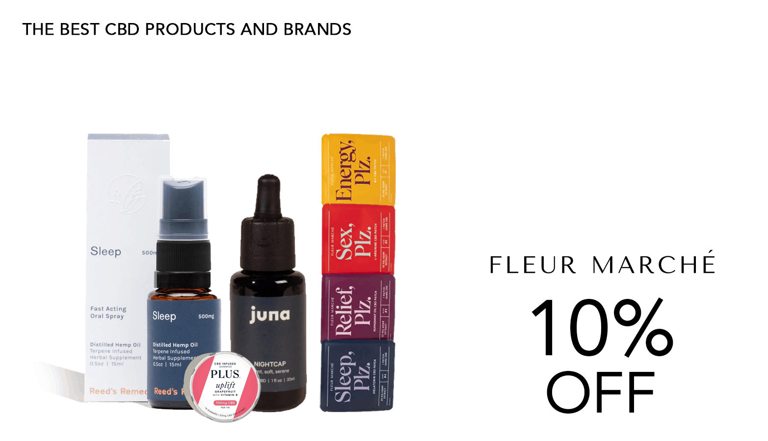 Fleur Marche CBD Coupon Code Offer Website
