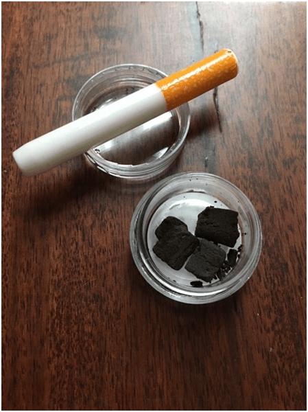 IHL CBD Black Hash Save On Cannabis Review Beauty Shot