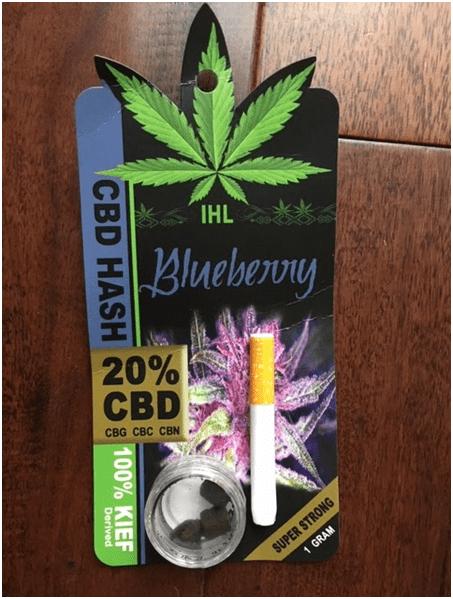 IHL CBD Black Hash Save On Cannabis Review
