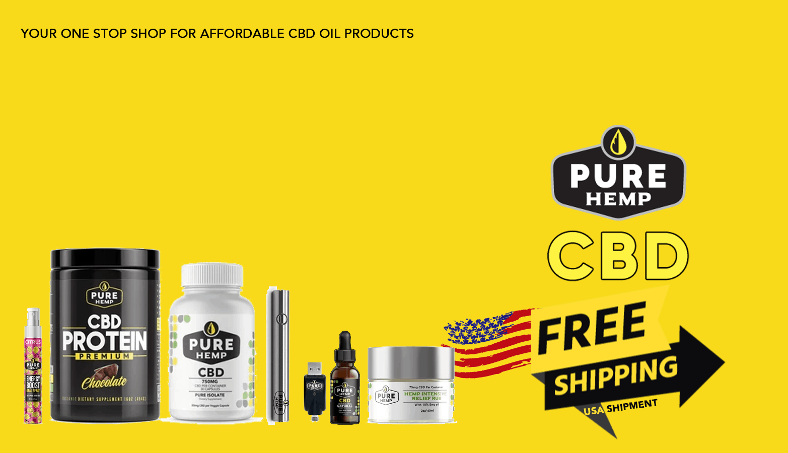 Pure Hemp CBD Coupon Code Offer Website