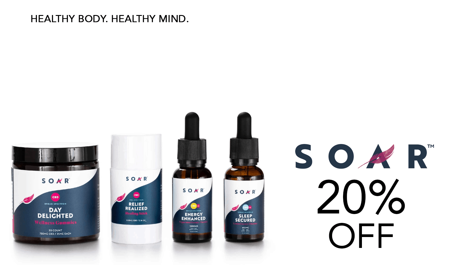 Soar CBD Coupon Code Offer Website