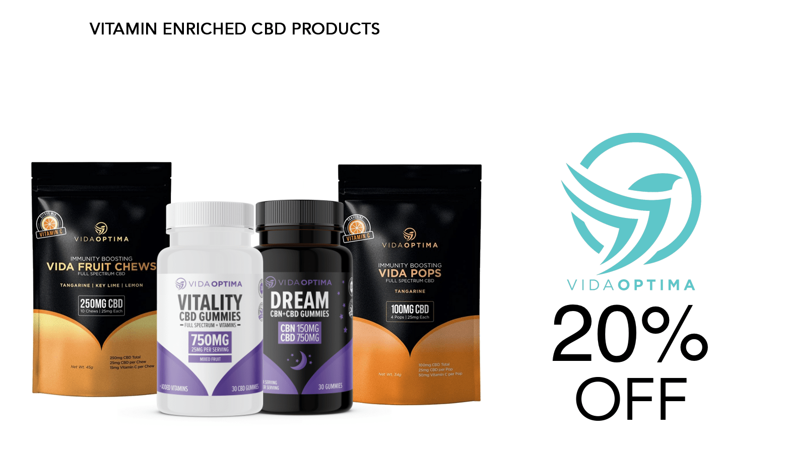 Vida Optima CBD Coupon Code Offer Website