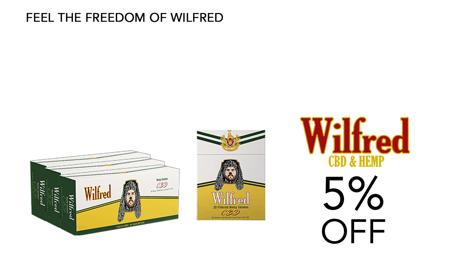 Wilfred CBD Coupon Code 5 Percent Offer Website