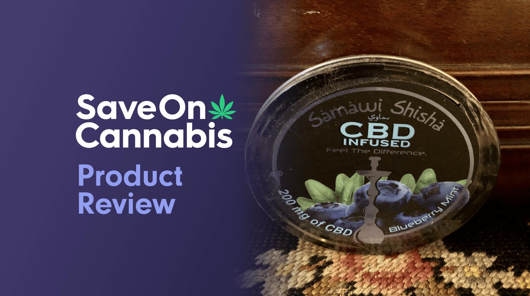 Flora CBD Blueberry Mint Shisha 200 mg Save On cannabis Review Website