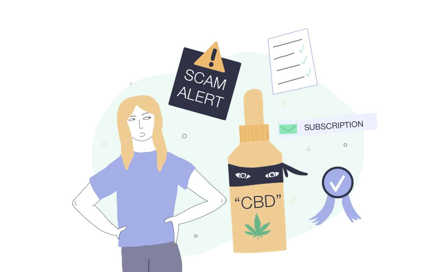how to avoid cbd scams