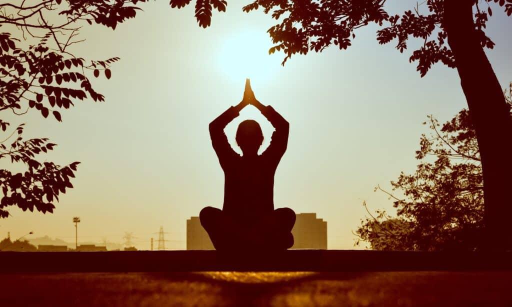 Meditate with CBD