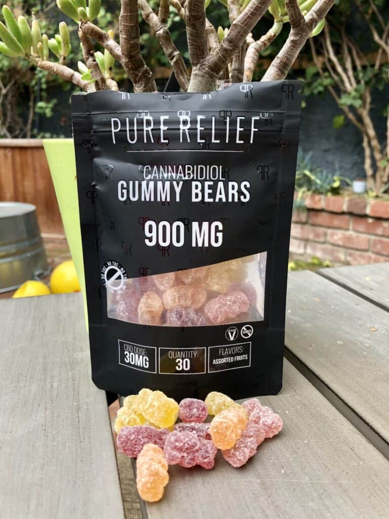 Pure Relief Daytime Hemp Gummies Save On Cannabis Review Beauty Shot