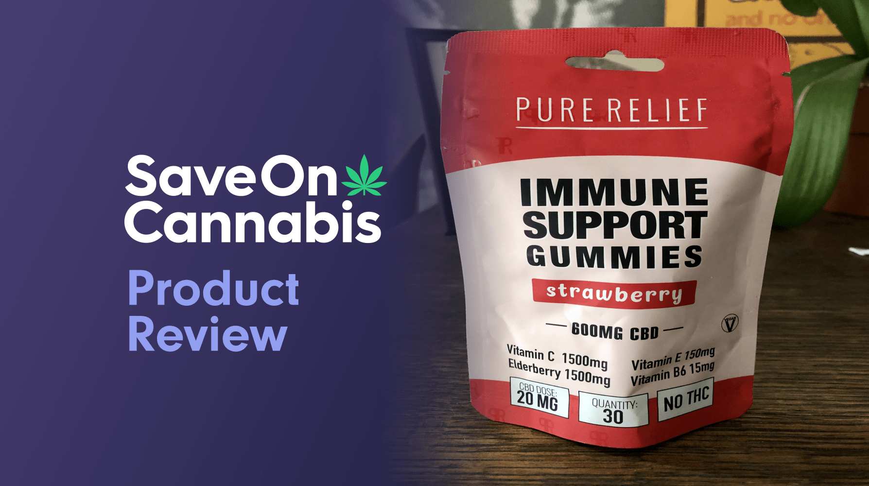 Pure Relief Immune Support Gummies Save On Cannabis Review Website