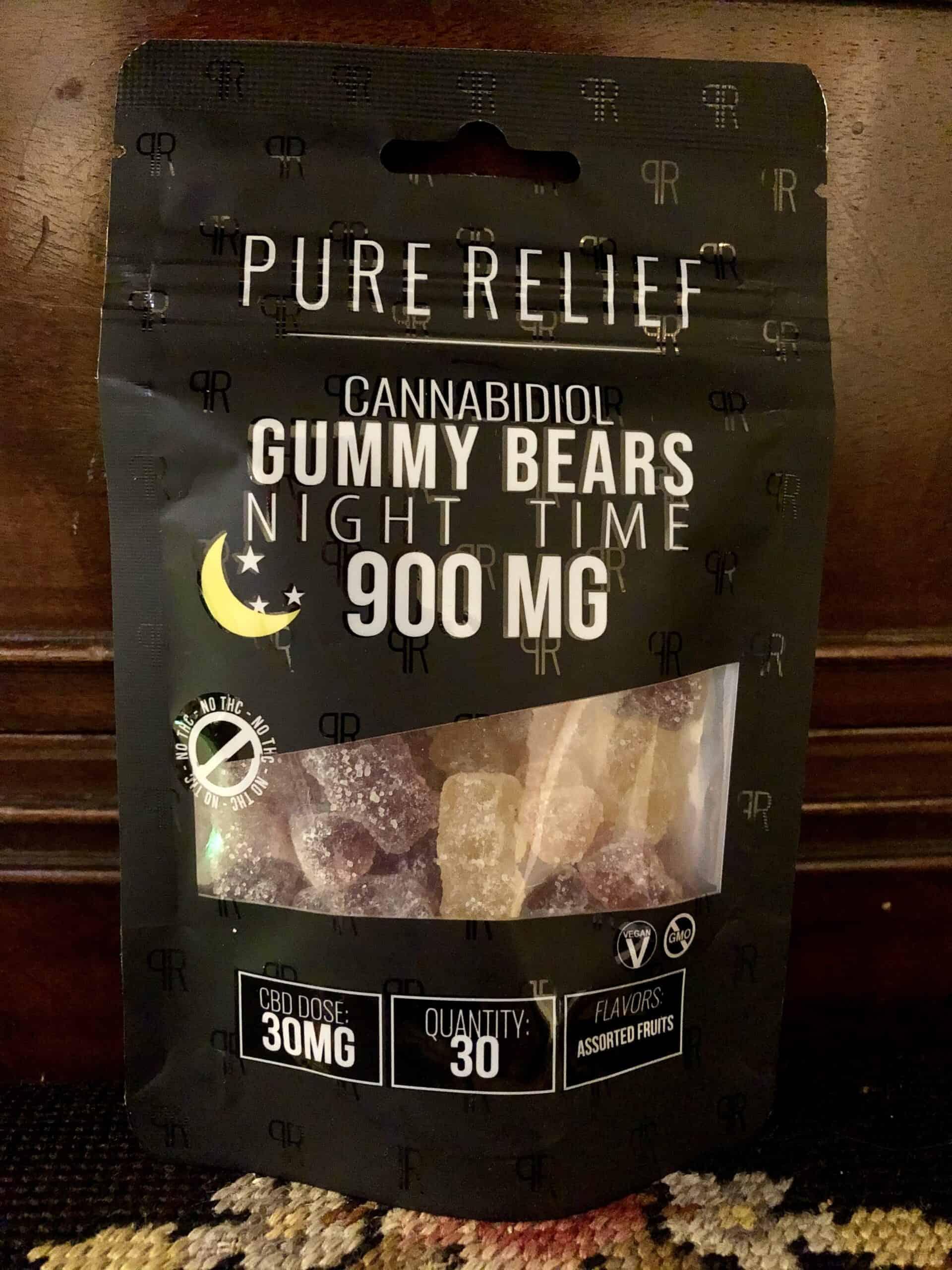 Pure Relief: CBD Night Time 900mg CBD Gummies