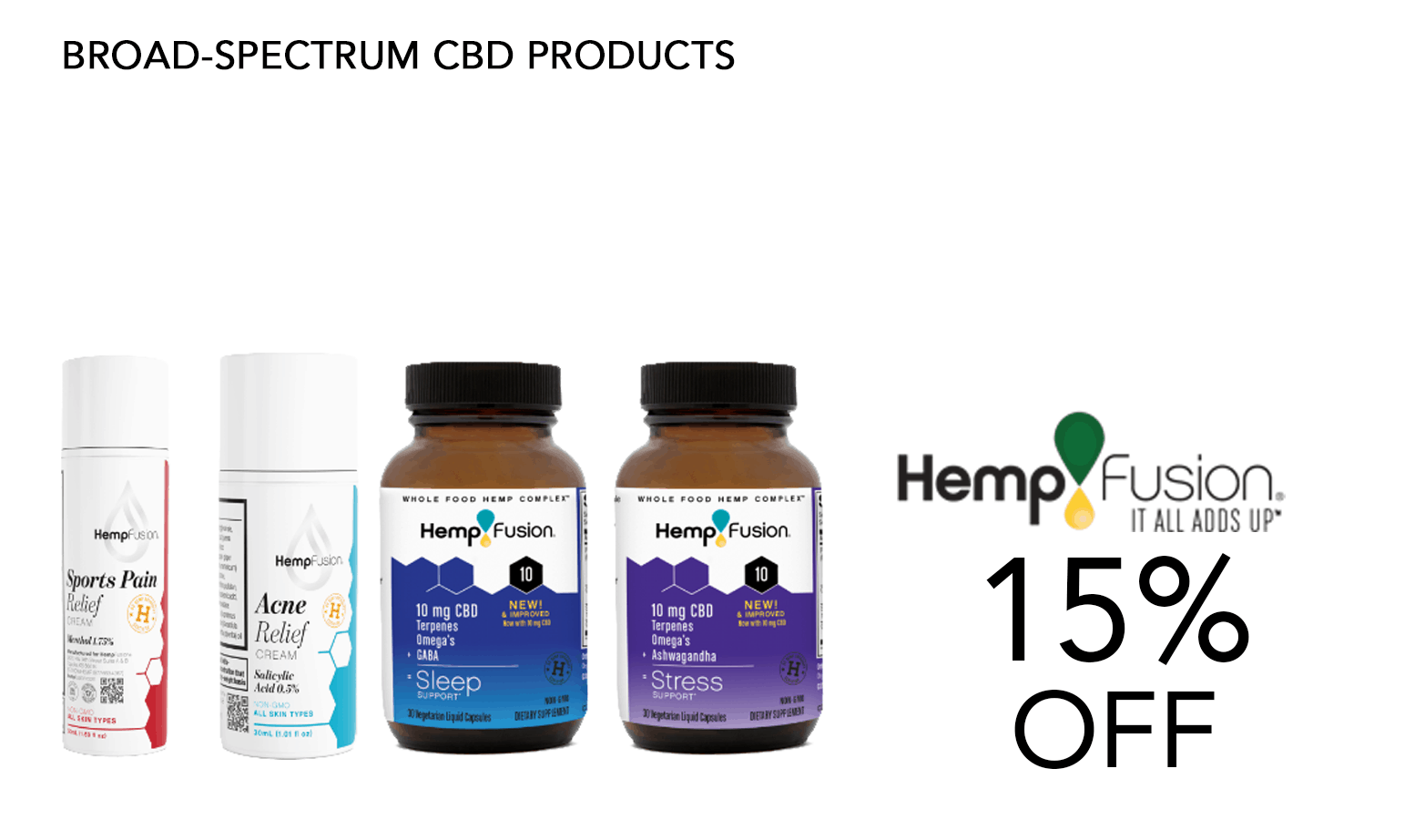HempFusion CBD Coupon Code Offer Website