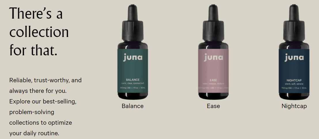 Juna CBD Coupons Collection For All