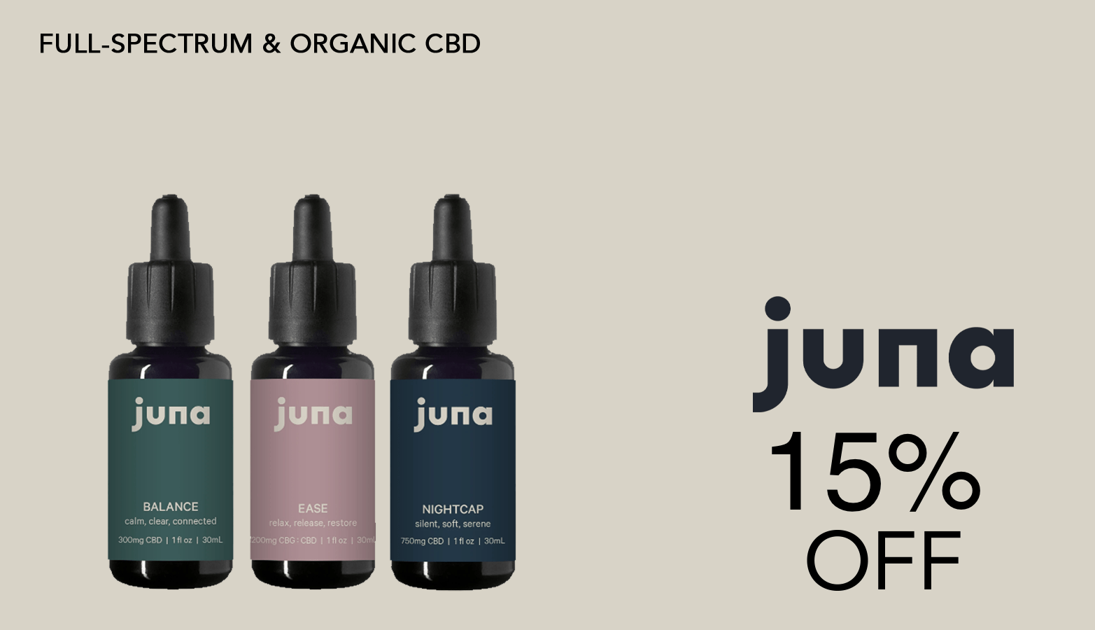 Save with Juna Discounts