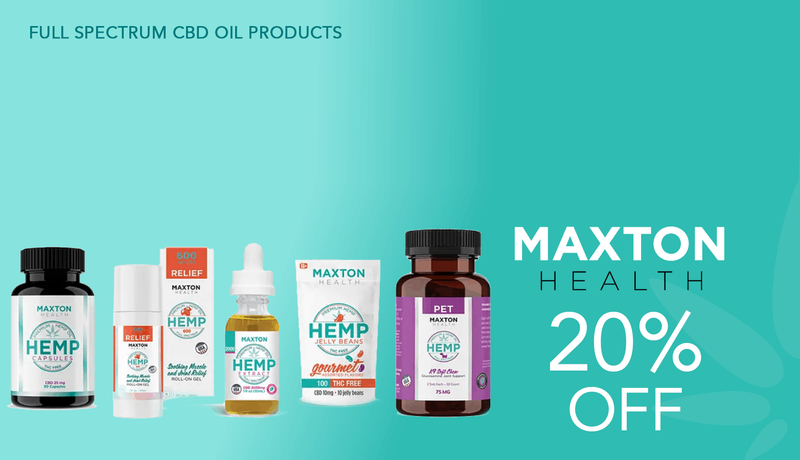 Maxton Health Coupon Code Offer Website