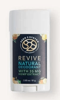 Seed2System CBD Coupons Revive Deodorant