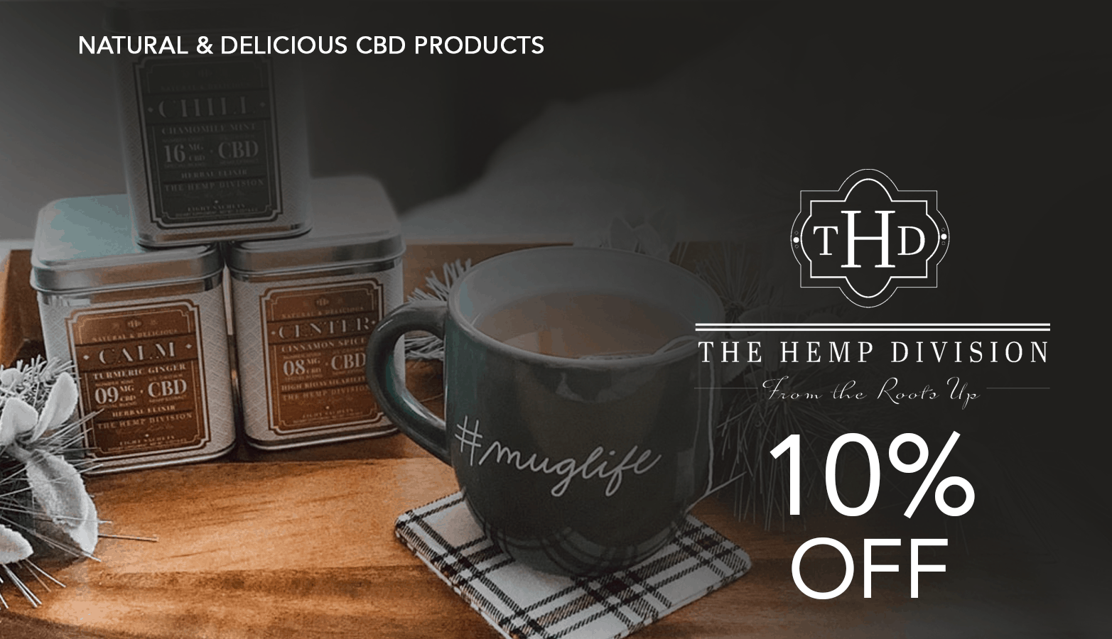 The Hemp Division CBD Coupon Code Offer Website