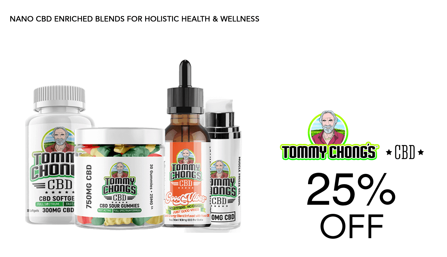 Tommy Chong CBD Coupon