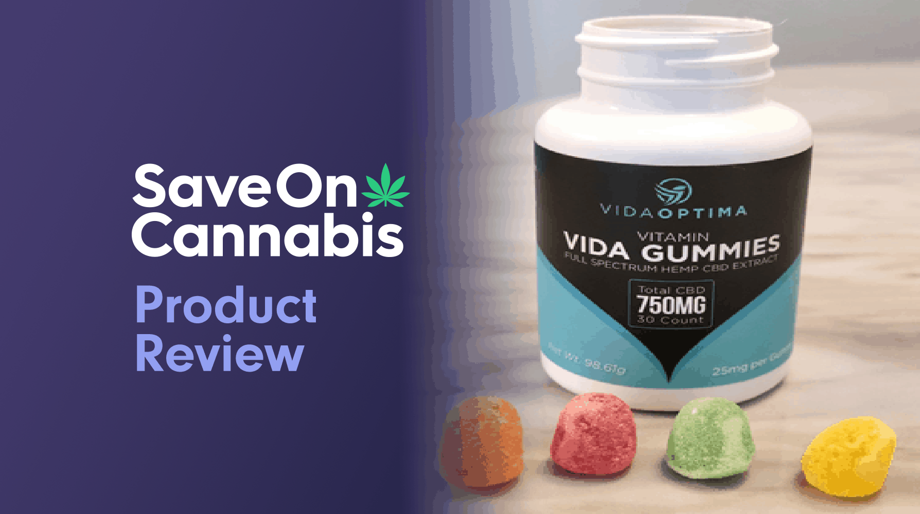 Vida Optima Vitamin Gummies Save On Cannabis Review Website