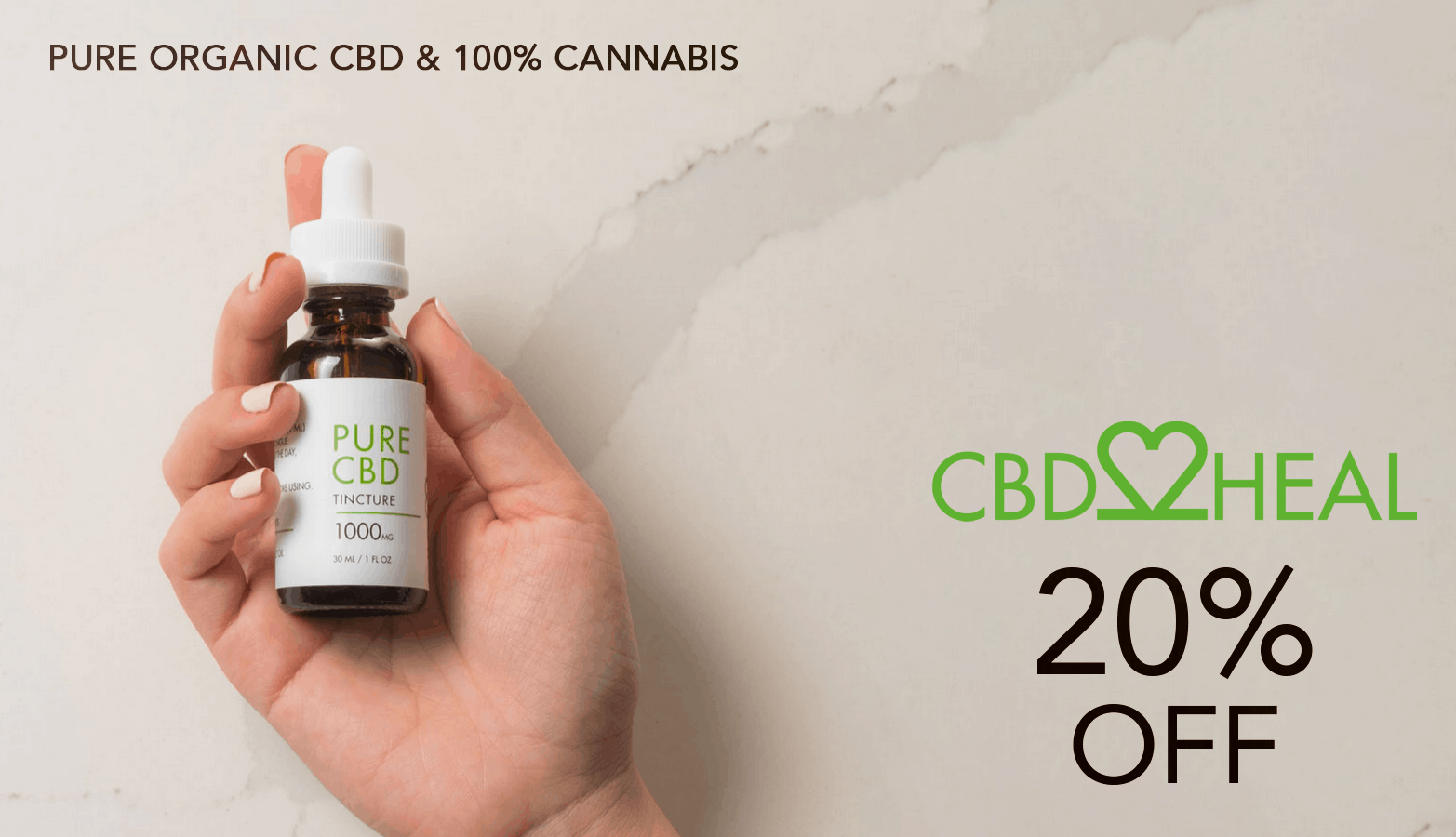 CBD2HEAL CBD Coupon Code Offer Website
