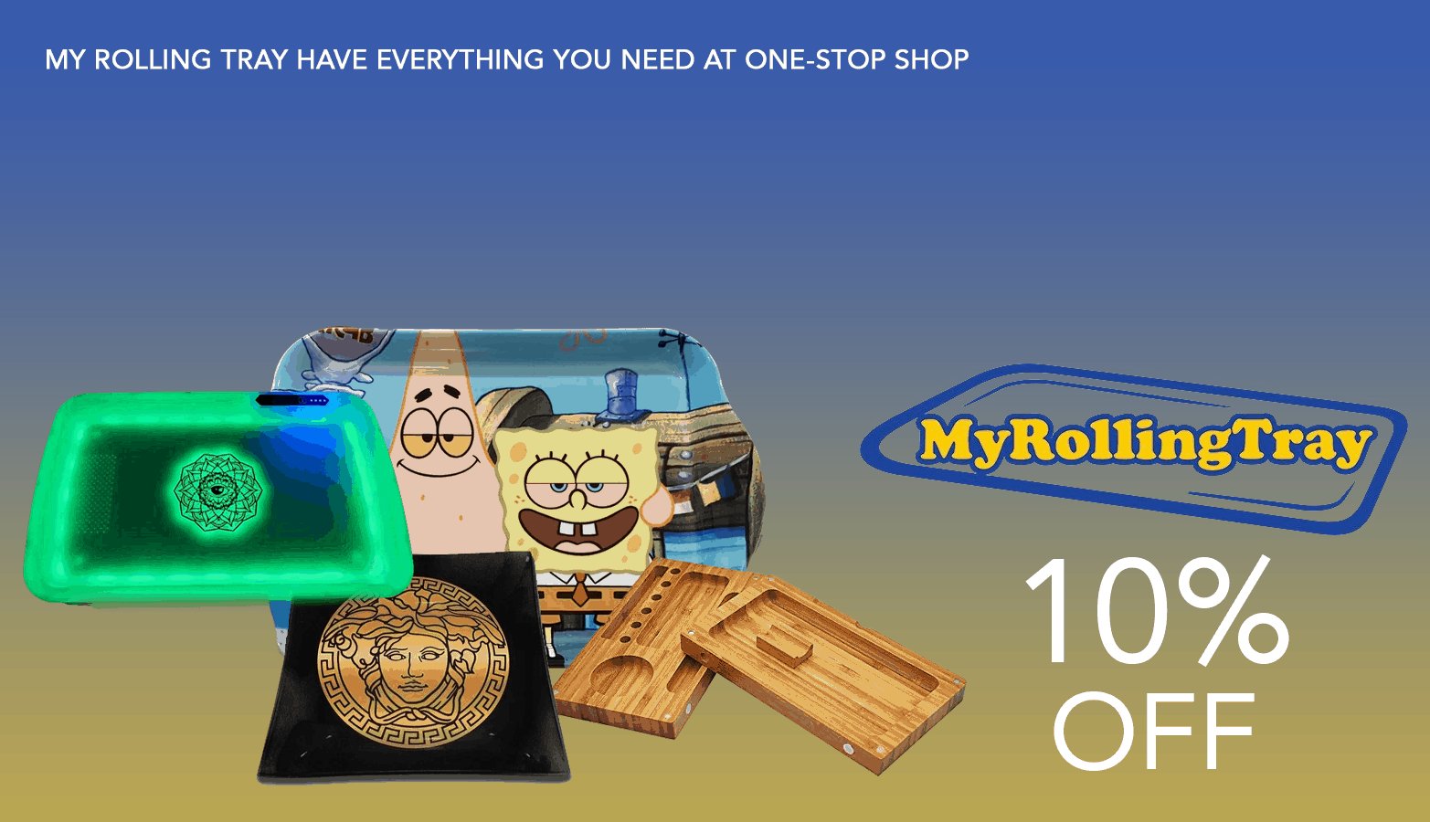 My Rolling Tray Cannabis Accessories Coupons Offer Website