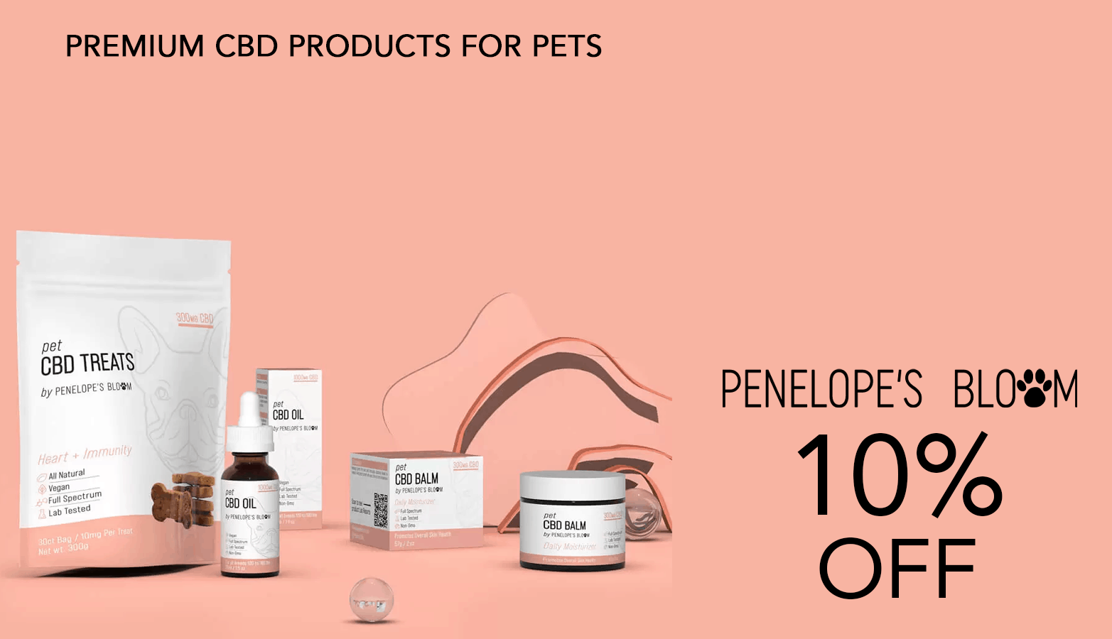 Penelope's Bloom CBD Coupon Code 10 Percent Offer Website