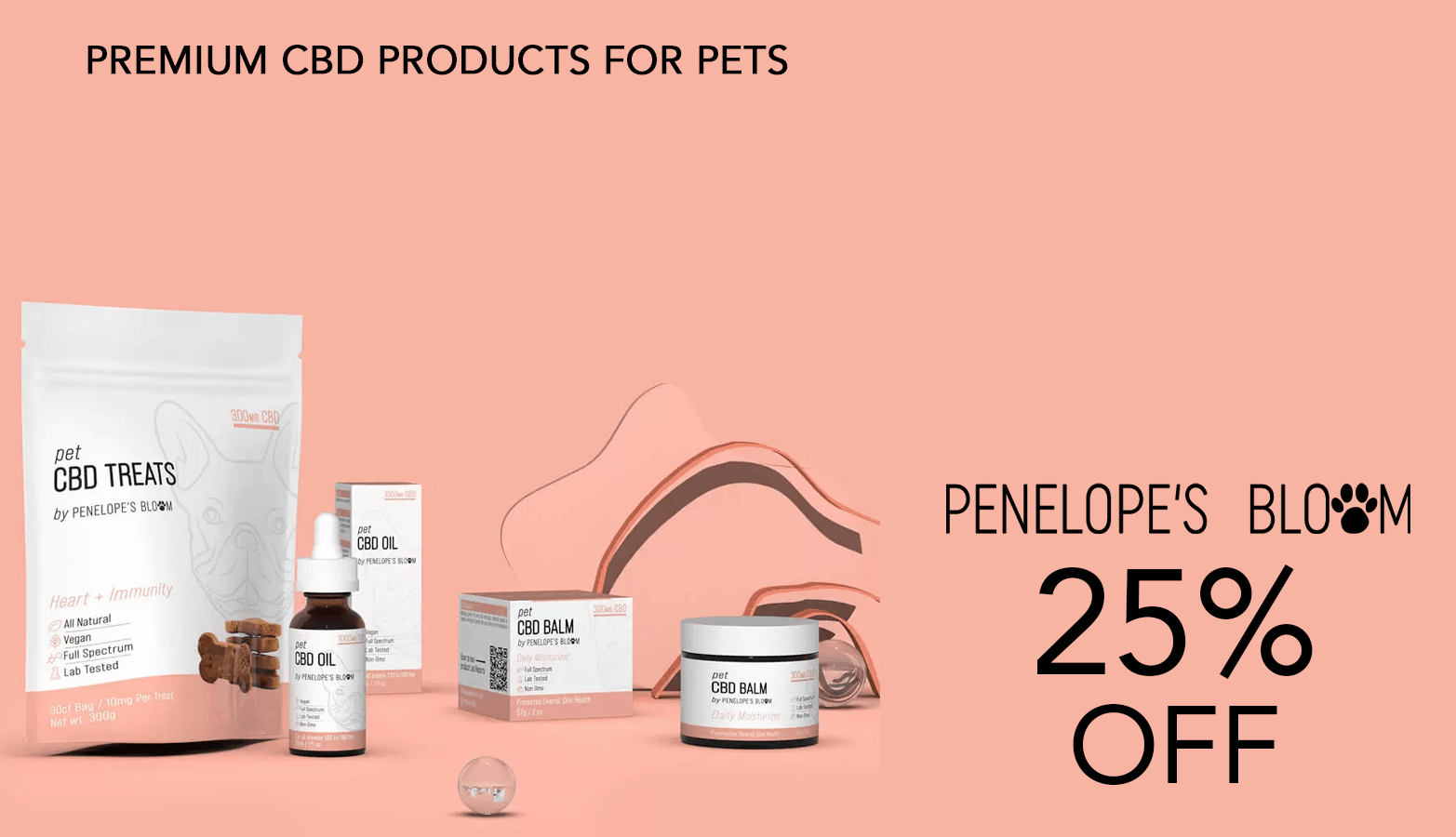 Penelope's Bloom CBD Coupon Code 25 Percent Offer Website
