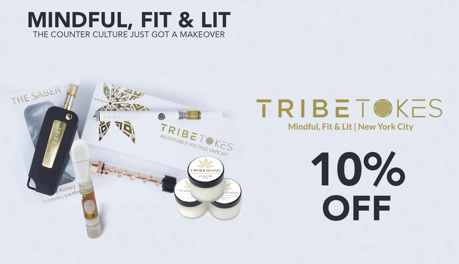 TribeTokes CBD Coupon Code Offer Website