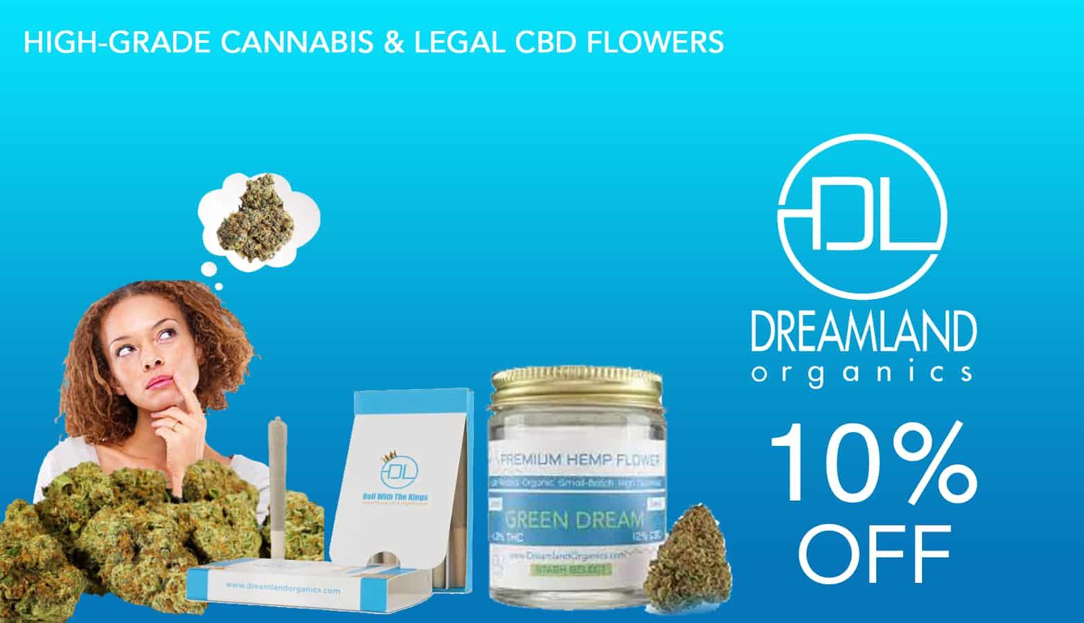 Save with Dreamland Organics 10 percent off coupon