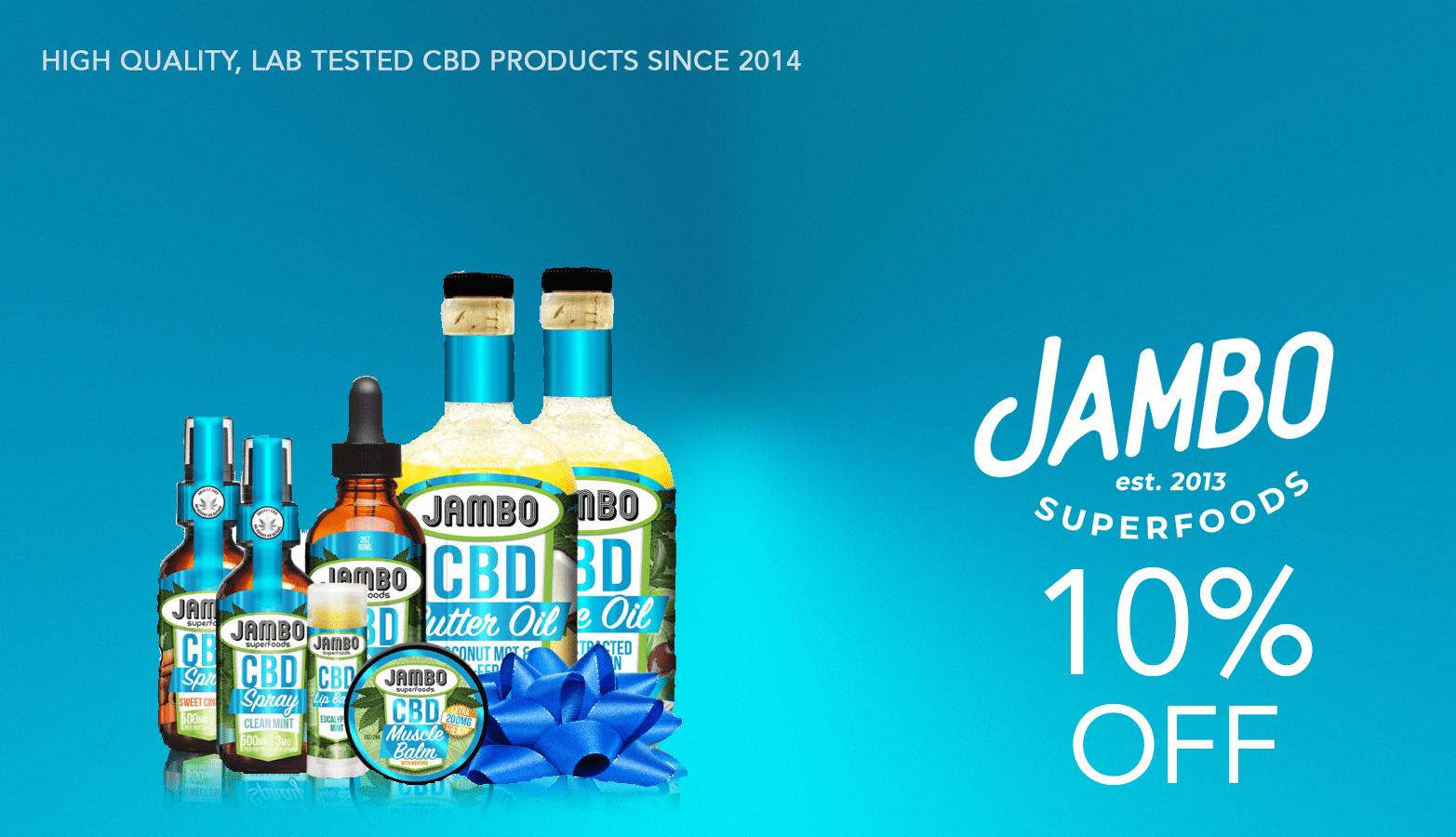 Jambo CBD Coupon Code Website
