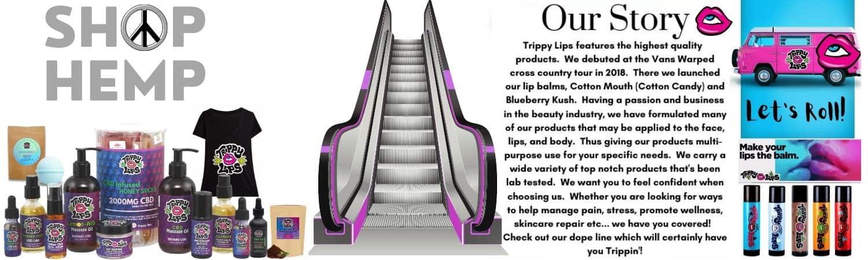 Trippy Lips CBD Coupon Code website
