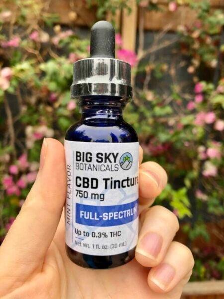 Big Sky Botanicals - Full Spectrum CBD Tincture