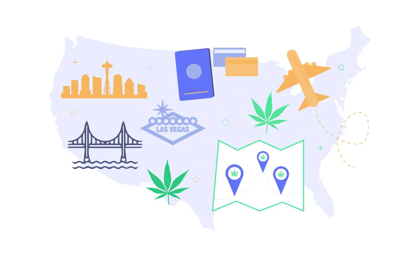 best cannabis vacations in USA