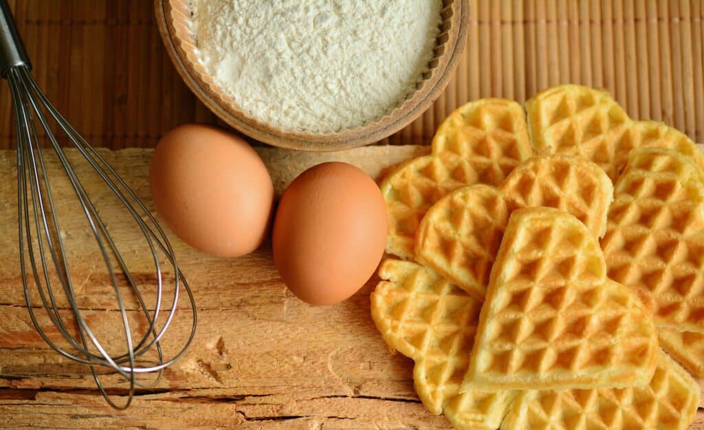 Make CBD Infused Waffles
