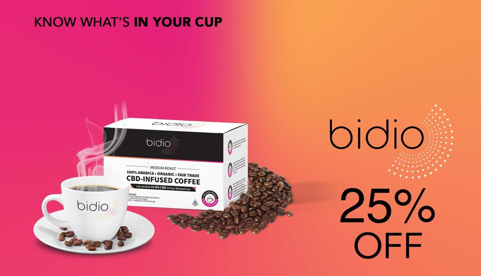 Save with Bidio coupon codes