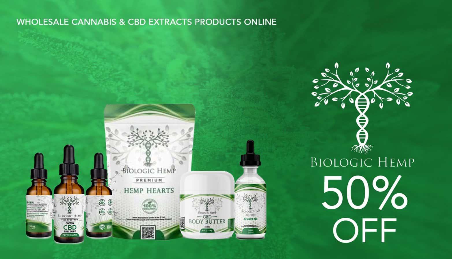Biologic Hemp Discount Code