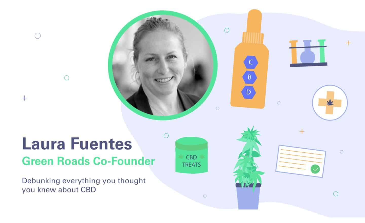 green roads CBD interview with Laura Fuentes