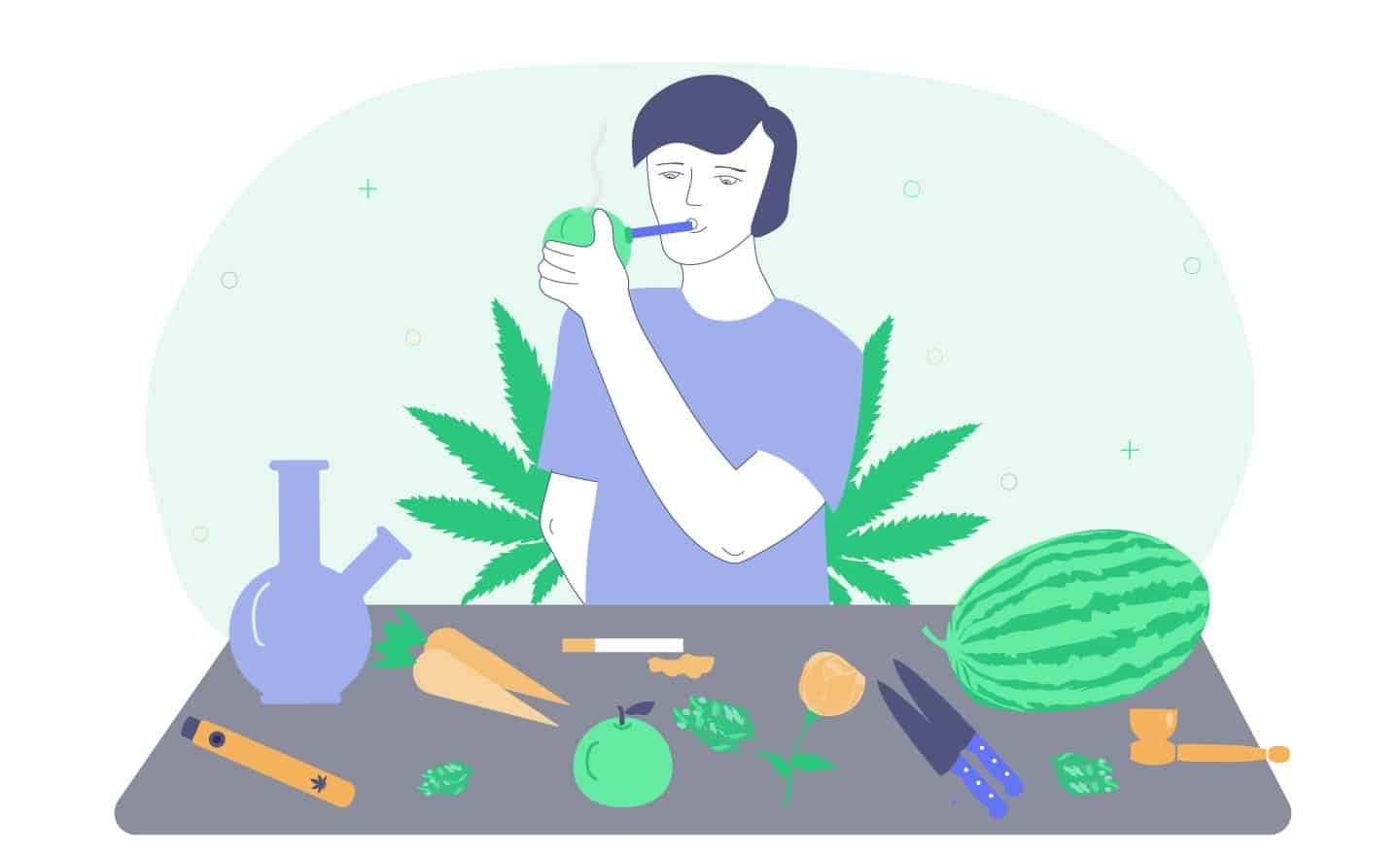 how to smoke weed without papers