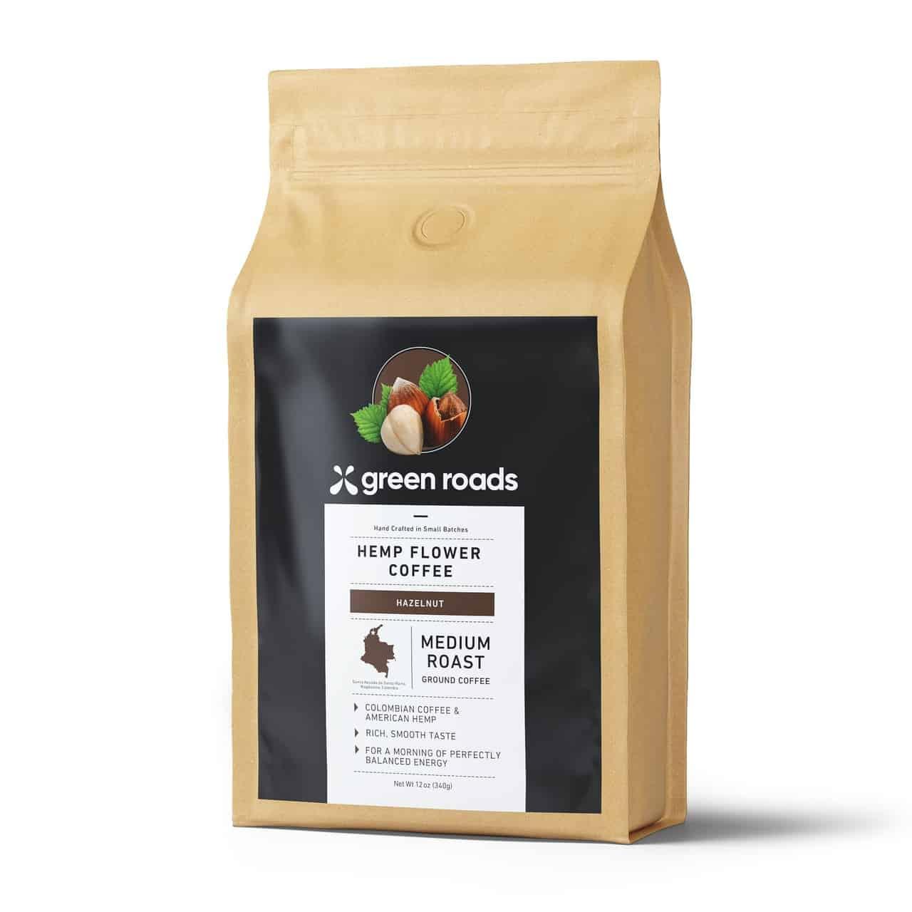 Hemp_Flower_Coffee_-_Hazelnut Green Roads CBD Coffee