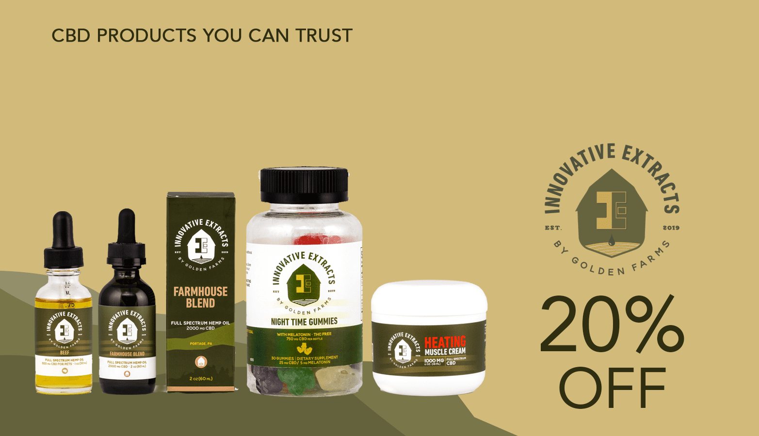 Innovative Extracts CBD Coupon Code Website