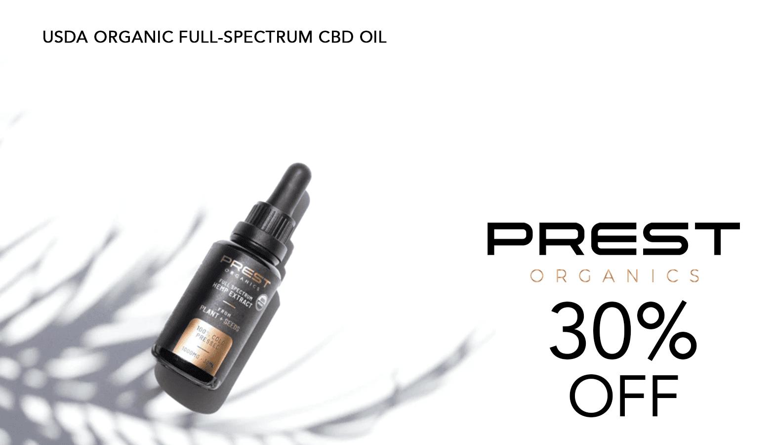 Prest Organics Coupon Code Website