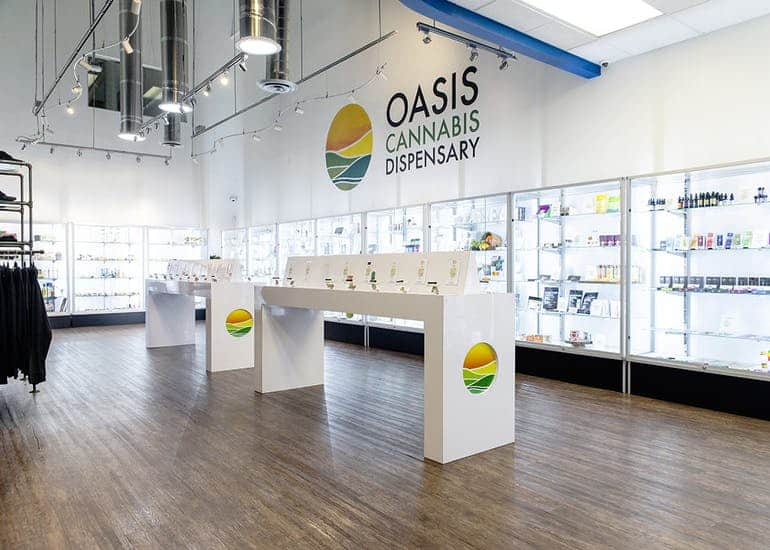 Oasis Cannabis Dispensary & delivery in Las Vegas